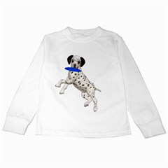 Dalmatian puppies 3 Kids Long Sleeve T-Shirt