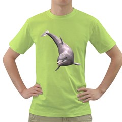 Dolphin 1 Mens  T-shirt (Green)