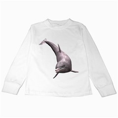 Dolphin 1 Kids Long Sleeve T Shirt