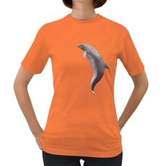 Dolphin 2 Womens' T-shirt (Colored)