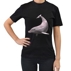 Dolphin 3 Womens' Two Sided T-shirt (Black)