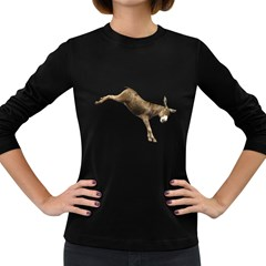 Donkey 1 Womens' Long Sleeve T-shirt (Dark Colored)