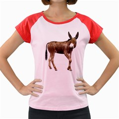 Donkey 2 Women s Cap Sleeve T-Shirt (Colored)