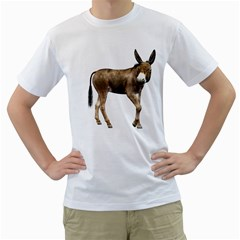 Donkey 2 Mens  T-shirt (White)
