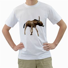 Donkey 3 Mens  T-shirt (White)