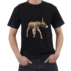 Donkey 3 Mens' Two Sided T-shirt (Black)