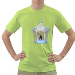 Cat 1 Mens  T-shirt (Green)
