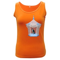 Cat 1 Womens  Tank Top (Dark Colored)