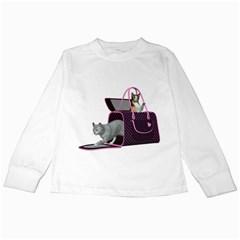 Cat 2 Kids Long Sleeve T-Shirt