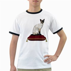 Cat 3 Mens' Ringer T-shirt