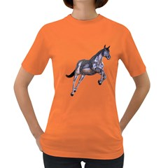Metal Horse 1 Womens' T-shirt (Colored)