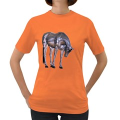 Metal Horse 2 Womens' T-shirt (Colored)