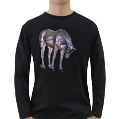 Metal Horse 2 Mens' Long Sleeve T-shirt (Dark Colored)