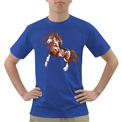 Native Horse Mens' T-shirt (Colored)