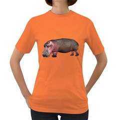 Hippo 1 Womens' T-shirt (Colored)