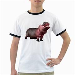 Hippo 2 Mens' Ringer T-shirt