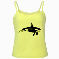 Orca 1 Yellow Spaghetti Tank