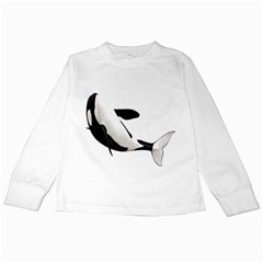 Orca Whale 2 Kids Long Sleeve T-Shirt