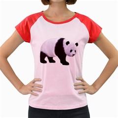 Panda Bear 2 Women s Cap Sleeve T-Shirt (Colored)