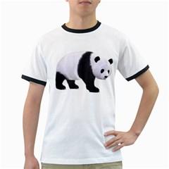 Panda Bear 2 Mens' Ringer T-shirt