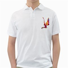 Phoenix 1 Mens  Polo Shirt (white)