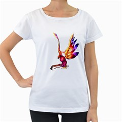 Phoenix 1 Womens' Maternity T Shirt (white)