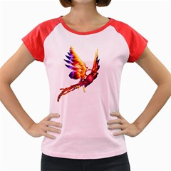 Phoenix 2 Women s Cap Sleeve T-Shirt (Colored)