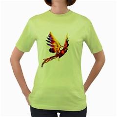 Phoenix 2 Womens  T-shirt (Green)