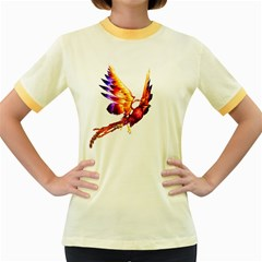 Phoenix 2 Womens  Ringer T-shirt (Colored)