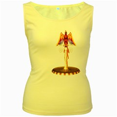 Phoenix 3 Womens  Tank Top (Yellow)