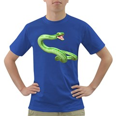 Green Snake Mens' T-shirt (Colored)