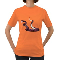 Snake Womens' T Shirt (colored)