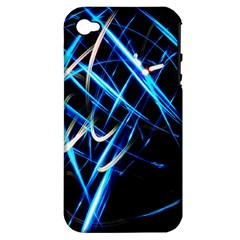 Illumination 2 Apple Iphone 4/4s Hardshell Case (pc+silicone)