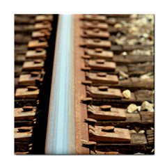 Train Track Ceramic Tile