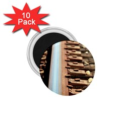 Train Track 1 75  Button Magnet (10 Pack)
