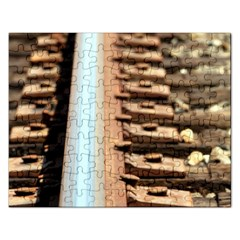 Train Track Jigsaw Puzzle (rectangle)