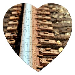 Train Track Jigsaw Puzzle (Heart)