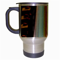 Train Track Travel Mug (silver Gray)