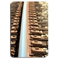 Train Track Large Door Mat