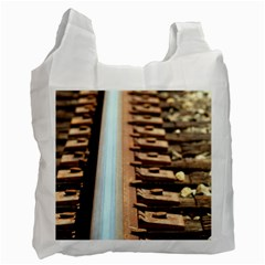 Train Track Recycle Bag (One Side)