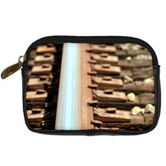 Train Track Digital Camera Leather Case