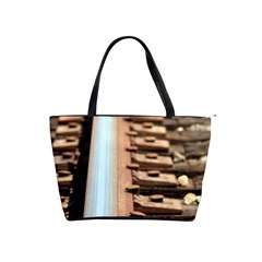 Train Track Large Shoulder Bag