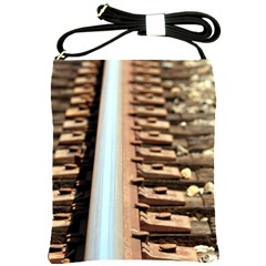 Train Track Shoulder Sling Bag