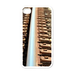 Train Track Apple iPhone 4 Case (White)