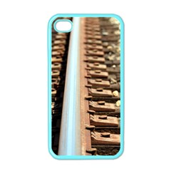 Train Track Apple Iphone 4 Case (color)