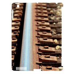 Train Track Apple Ipad 3/4 Hardshell Case (compatible With Smart Cover)