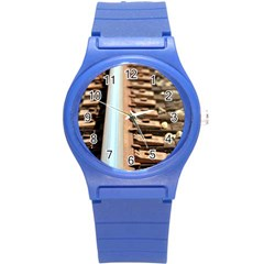 Train Track Plastic Sport Watch (small)