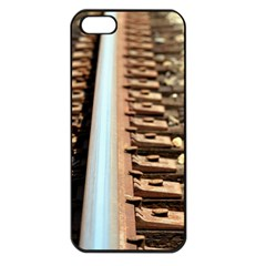 Train Track Apple iPhone 5 Seamless Case (Black)