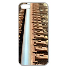 Train Track Apple Seamless iPhone 5 Case (Clear)