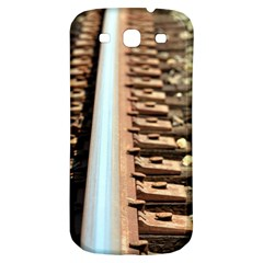 Train Track Samsung Galaxy S3 S Iii Classic Hardshell Back Case
